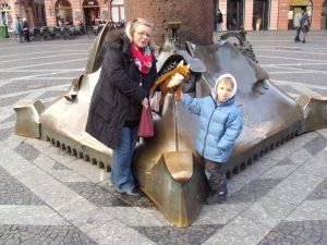 Heinrich von Rotfell mit Jungen